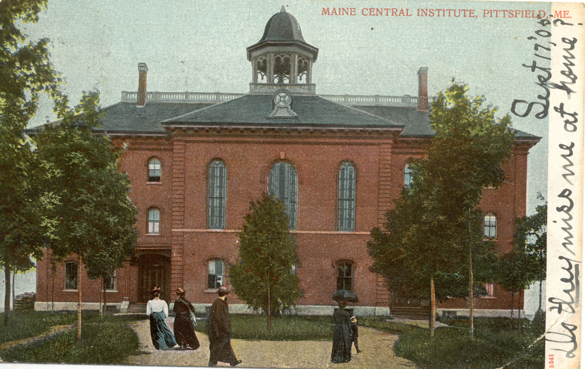 The Maine Central Institute, Pittsfield, Maine