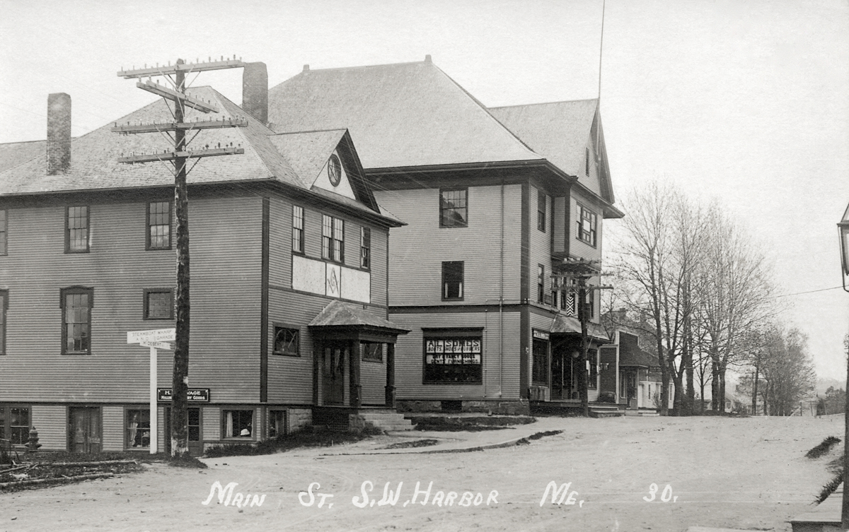 The First Masonic Hall and the First Odd Fellows Building<br />