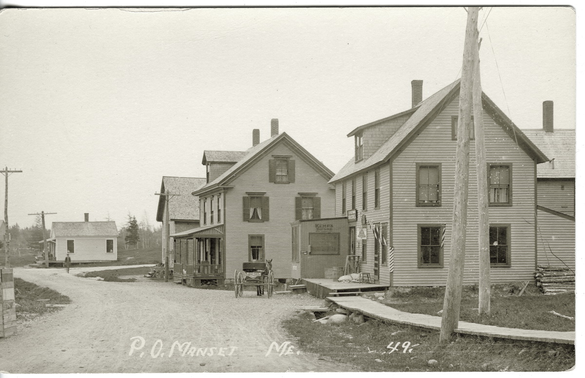 S.W. Newman Groceries and Manset Post Office