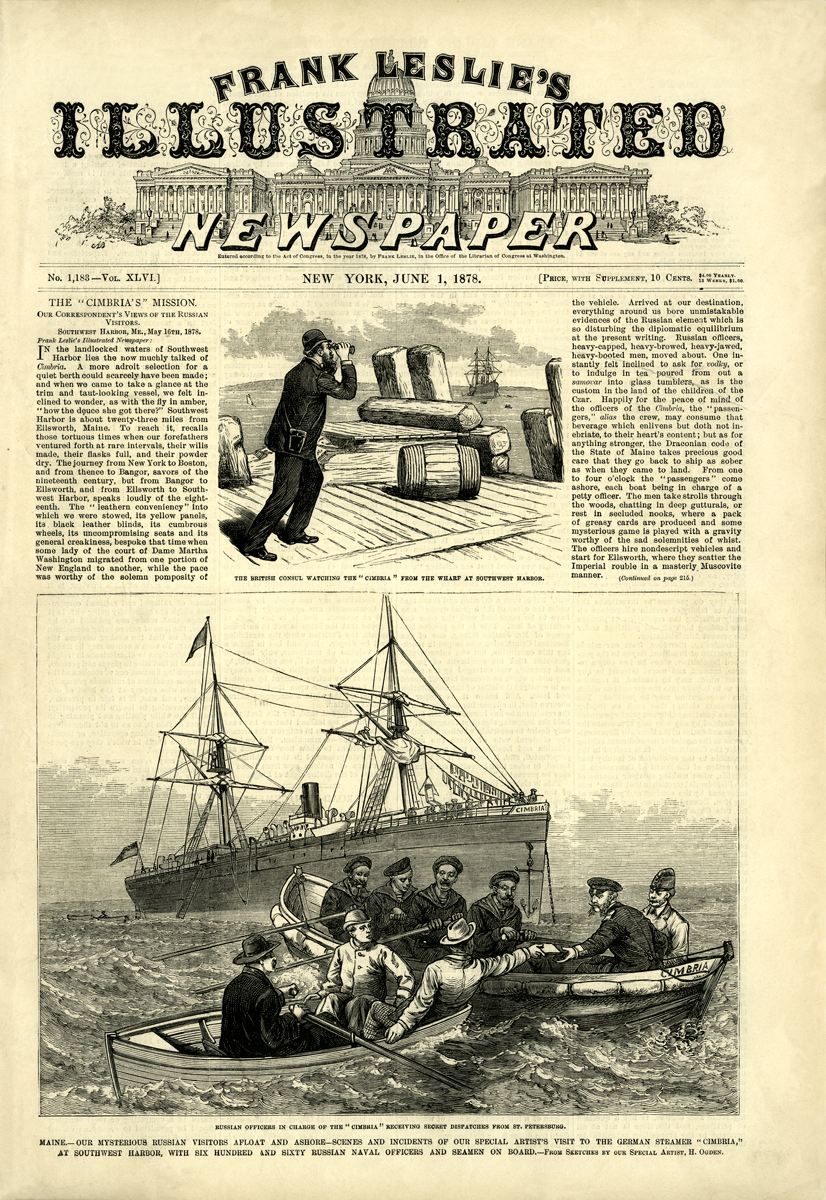 Frank Leslie's Illustrated Newspaper, June 1, 1878