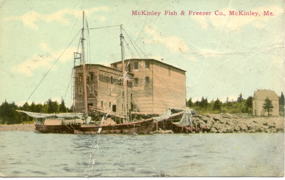 McKinley Fish & Freezer Co., McKinley, Me.