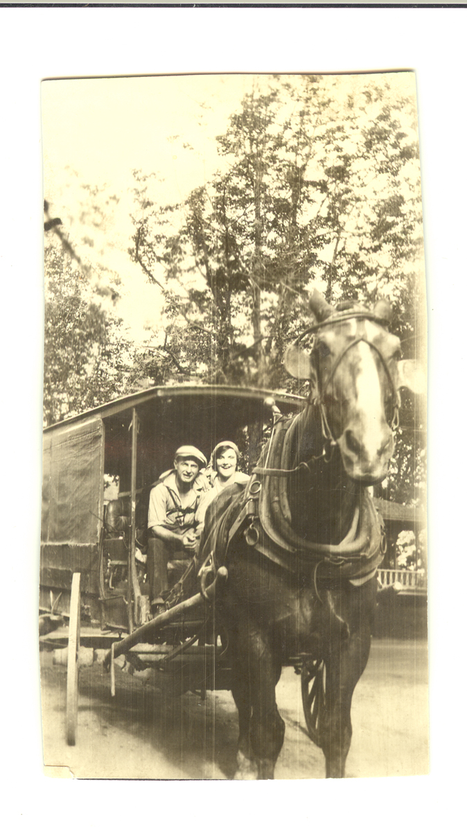 Christopher Wendell Lawlor Driving the Ice Wagon