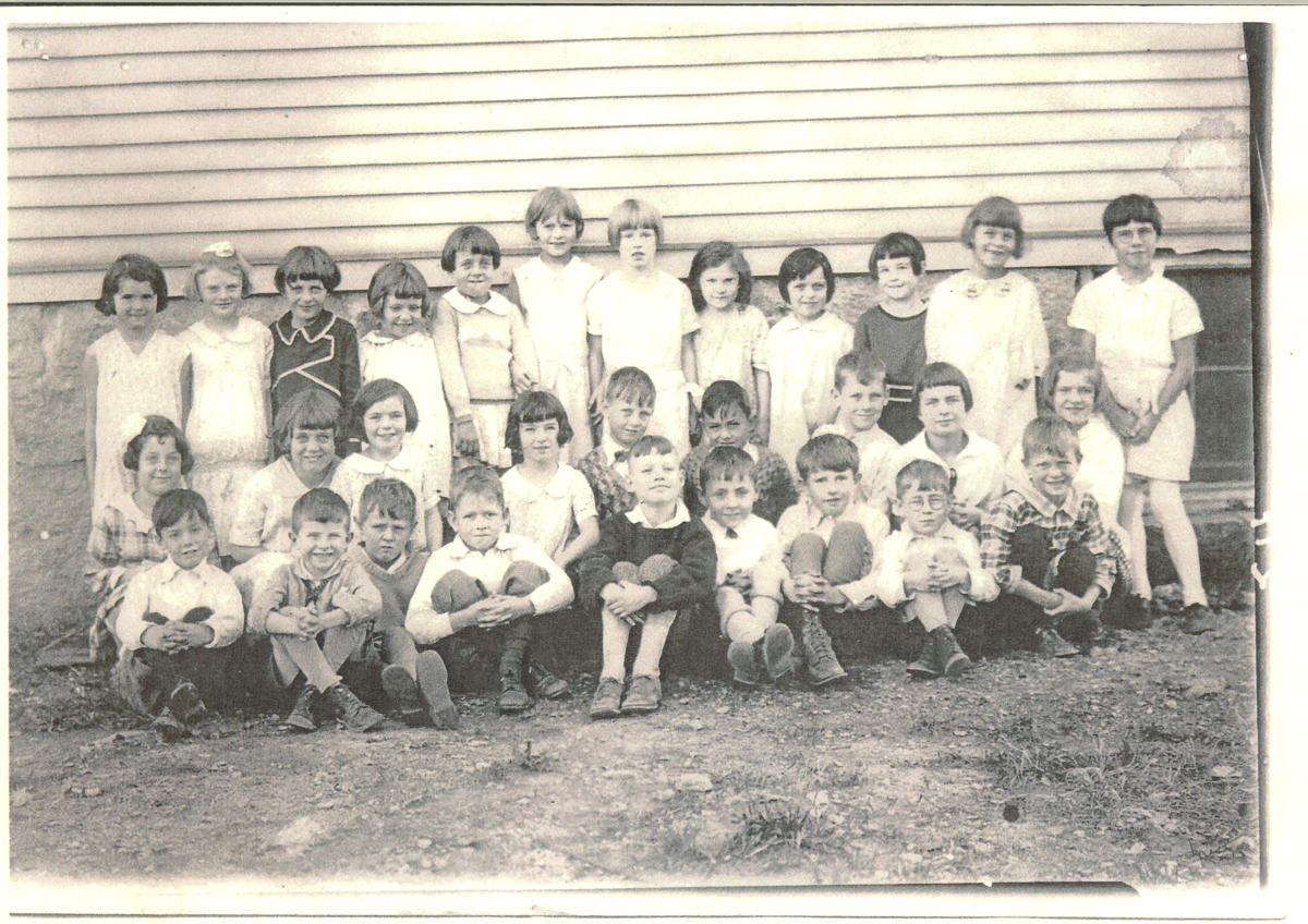 First or Second Grade Students at the Southwest Harbor Primary School