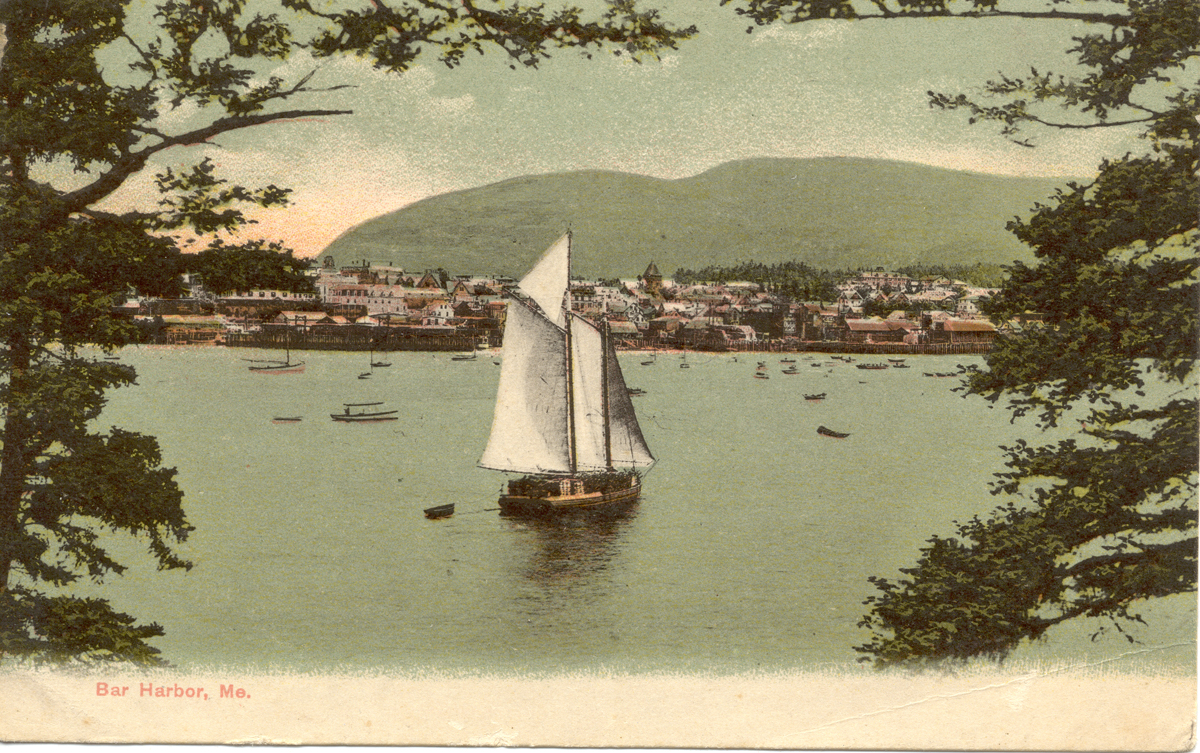 View of Bar Harbor from the Water