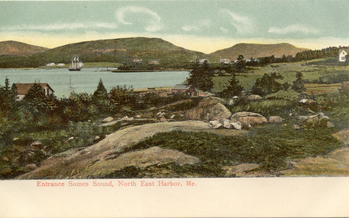 Entrance to Somes Sound, Northeast Harbor