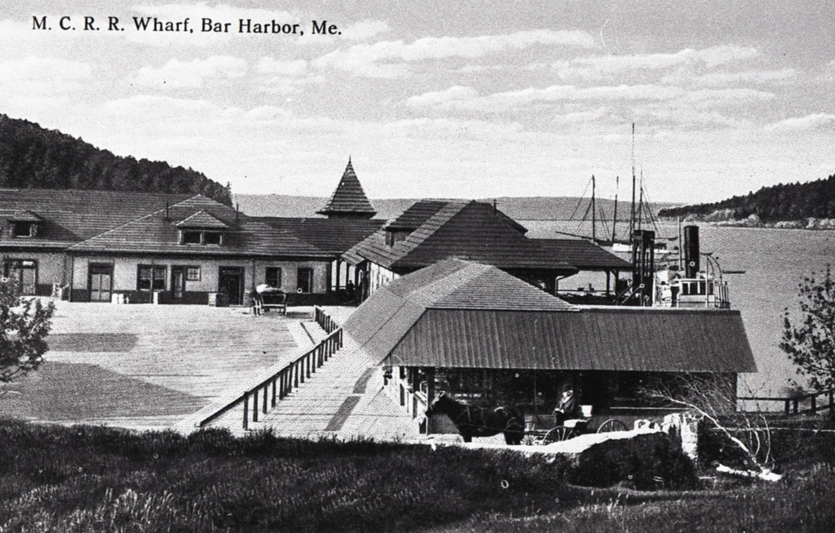 Maine Central RR Wharf and Ferry Landing