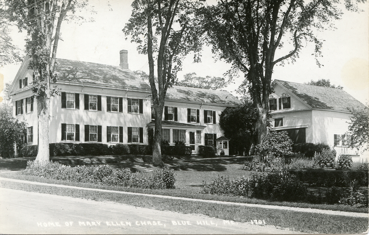 The Family Home of Mary Ellen Chase in Blue Hill, Maine