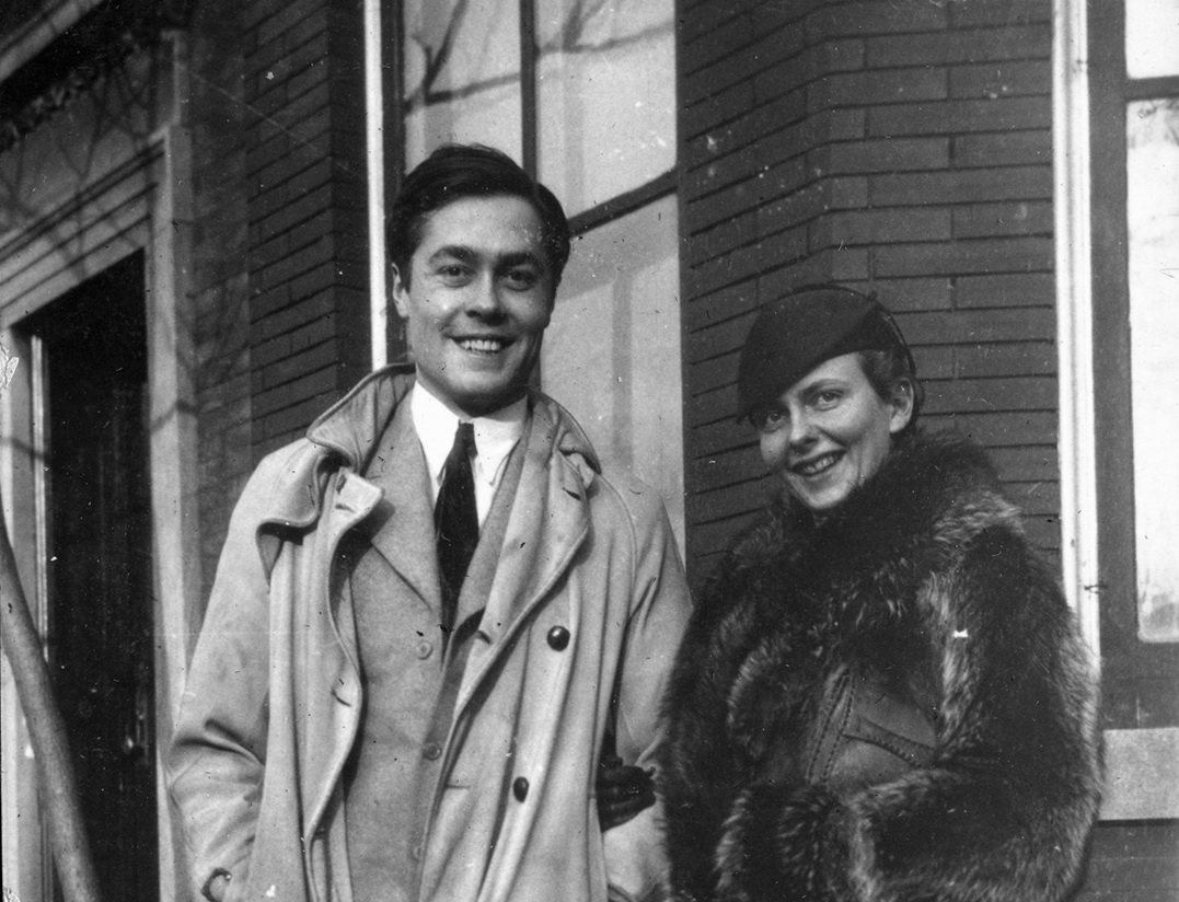 Arthur Foote II and Rebecca (Clark) Foote at Meadville Theological School, Chicago, Illinois