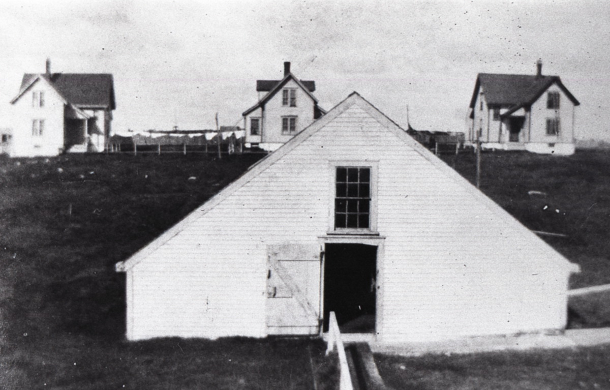 Buildings at Great Duck Light Station