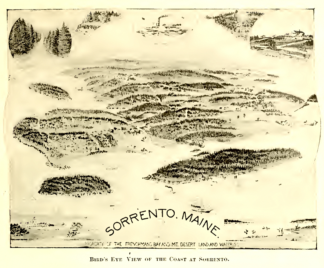 Sorrento, Maine - Property of the Frenchman's Bay and Mt. Desert Land and Water Co.