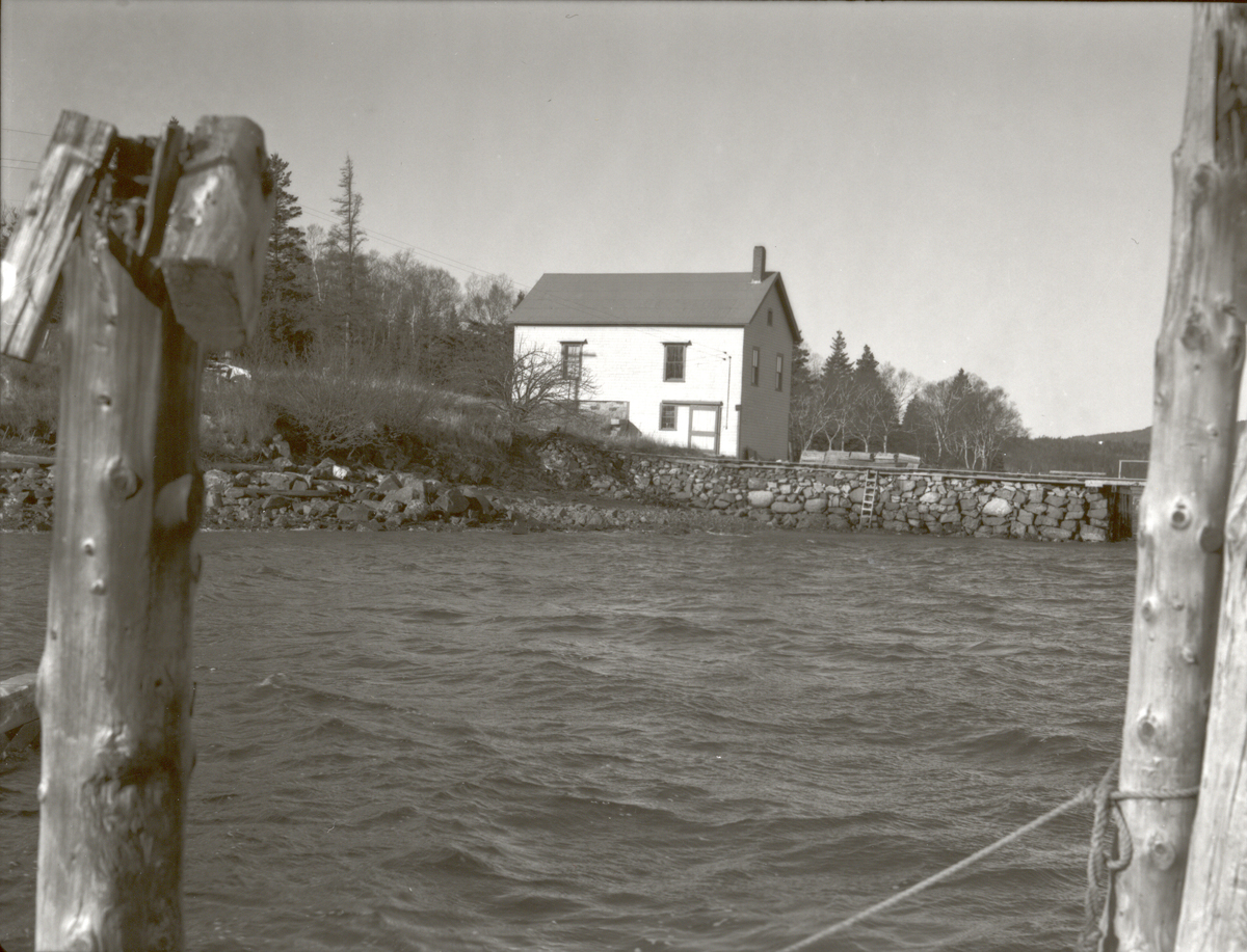 The Ocean House Boat House Building Before Remodelling