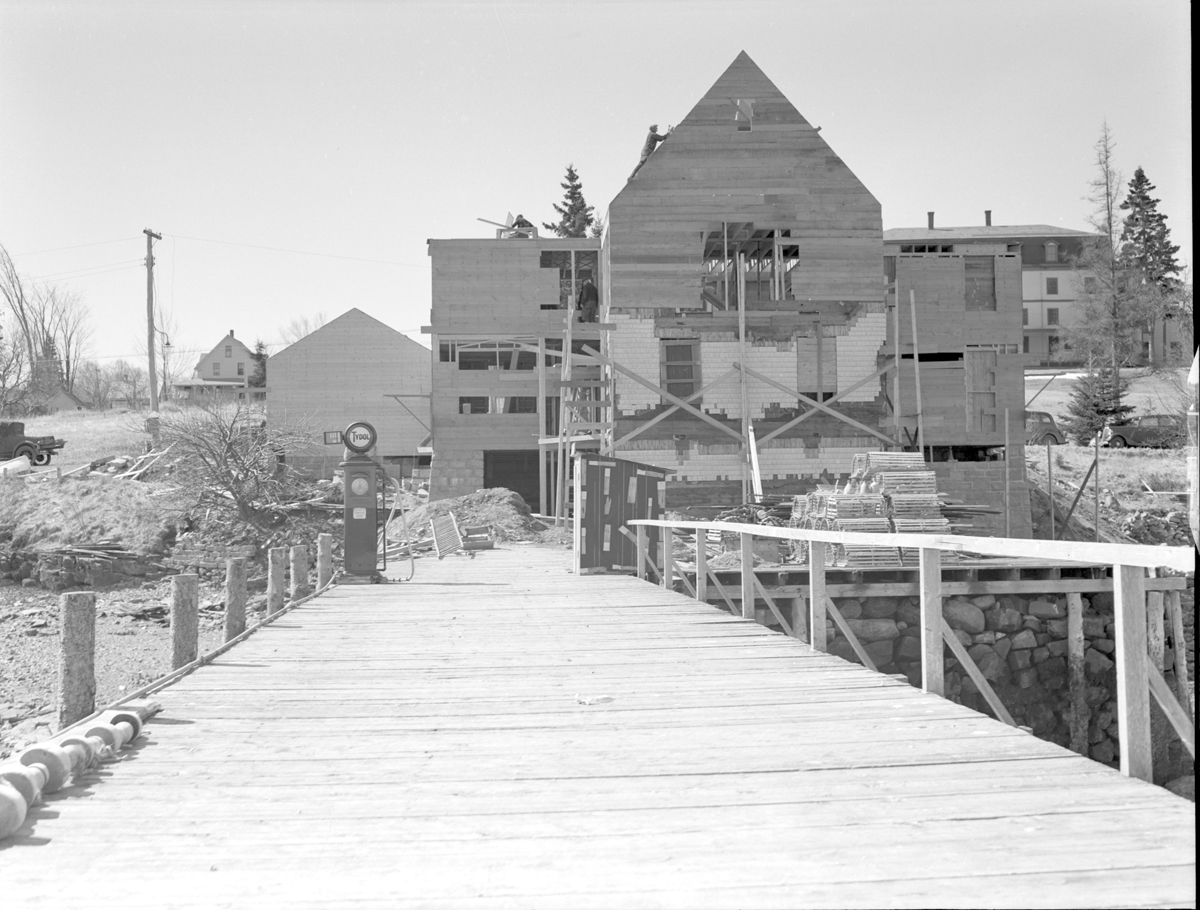 The Ocean House - Boat House Building During Remodelling