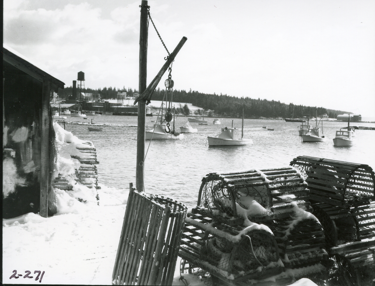 View of McKinley from Thurston's Wharf in Bernard