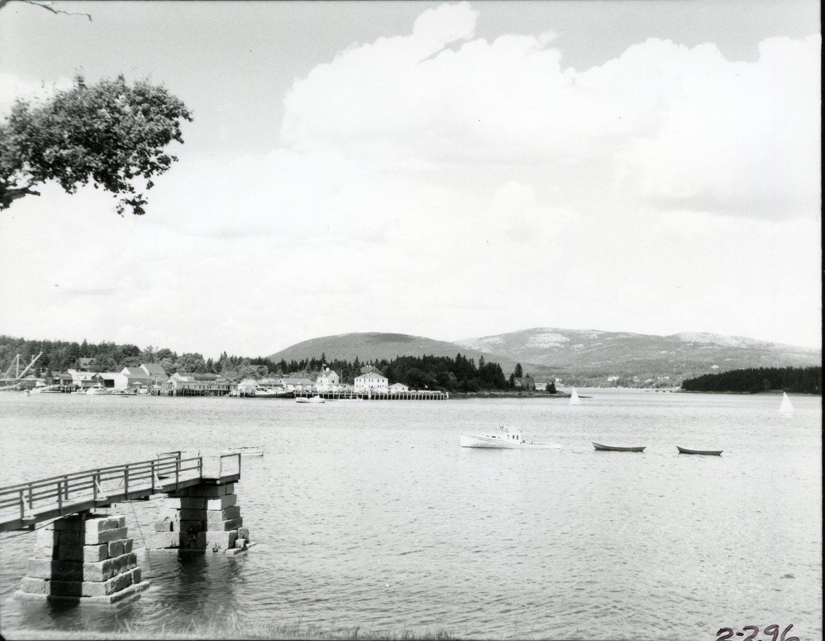 View of Clark Point from Manset