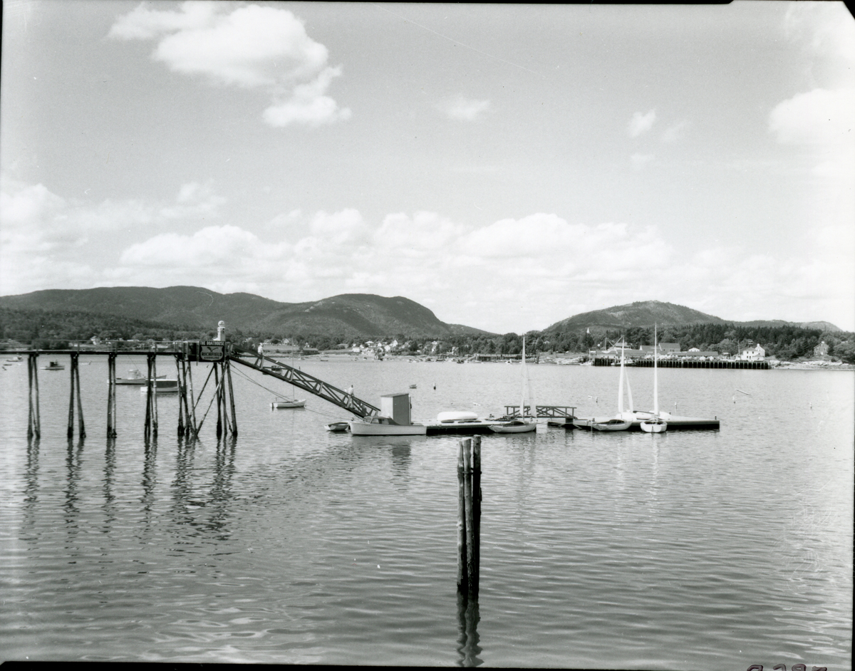 View of Clark Point from Manset Wharf