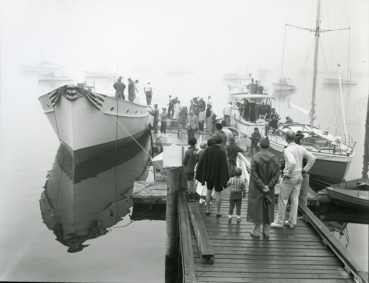 Boat Launching in the Fog