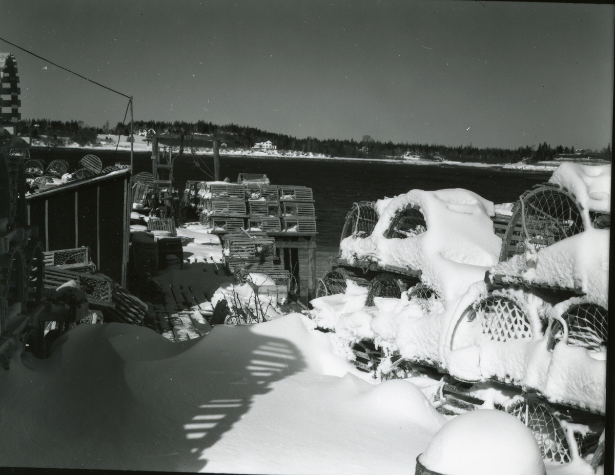 Lobster Wharf at Goose Cove, Tremont, Maine