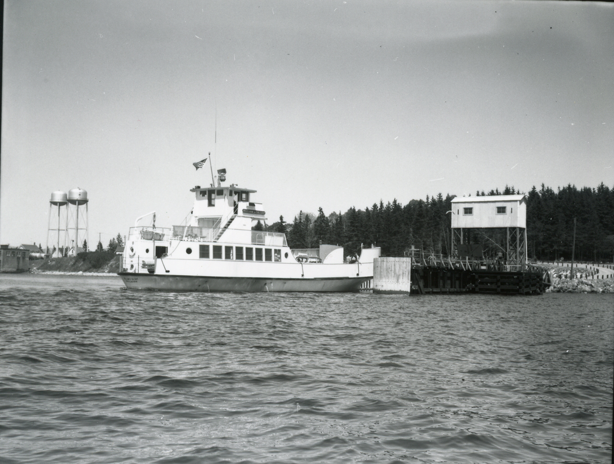Swans Island Ferry William S. Silsby at Maine State Ferry Terminal, McKinley, Maine