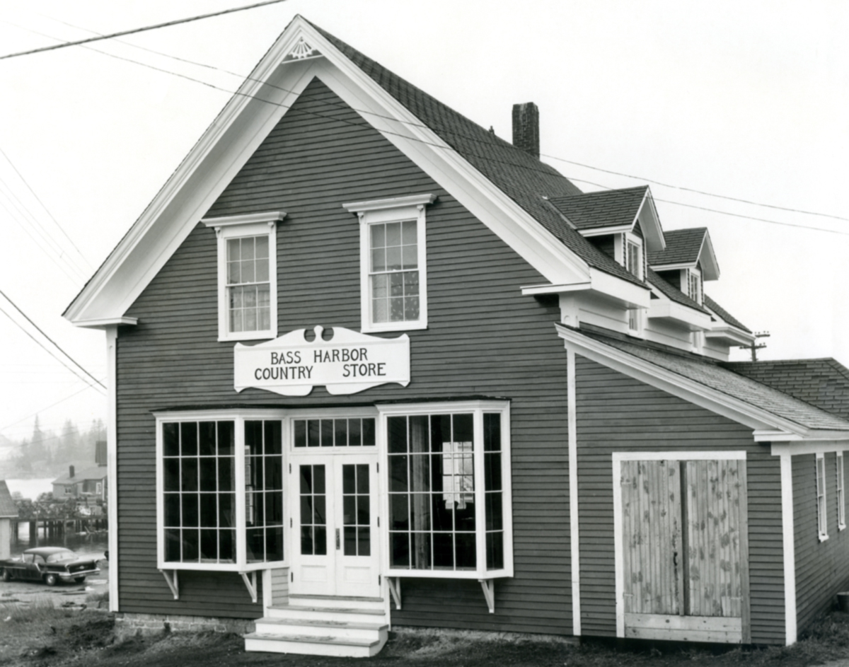 Perry Warrington Richardson's Store as Bass Harbor Country Store