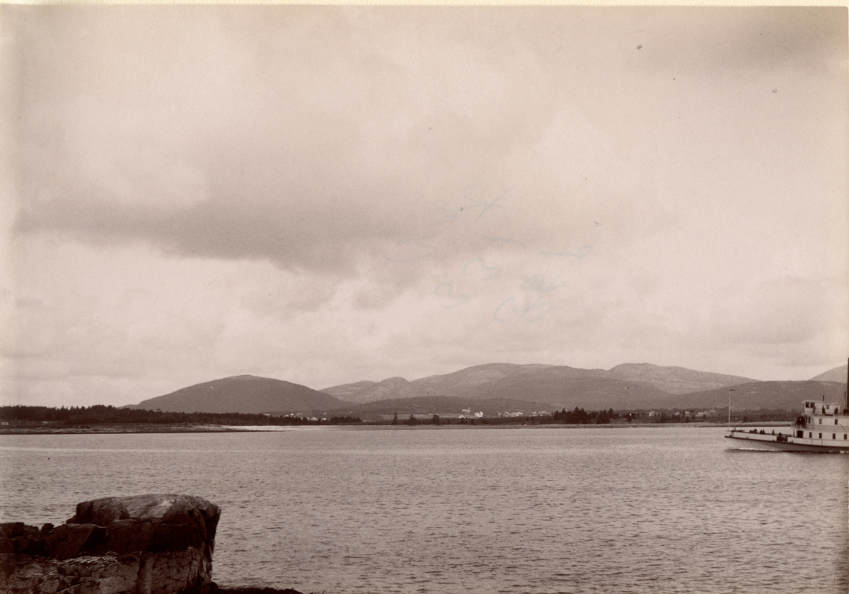 The Stanley House - 1891 - Across the Bay near the Stanley House