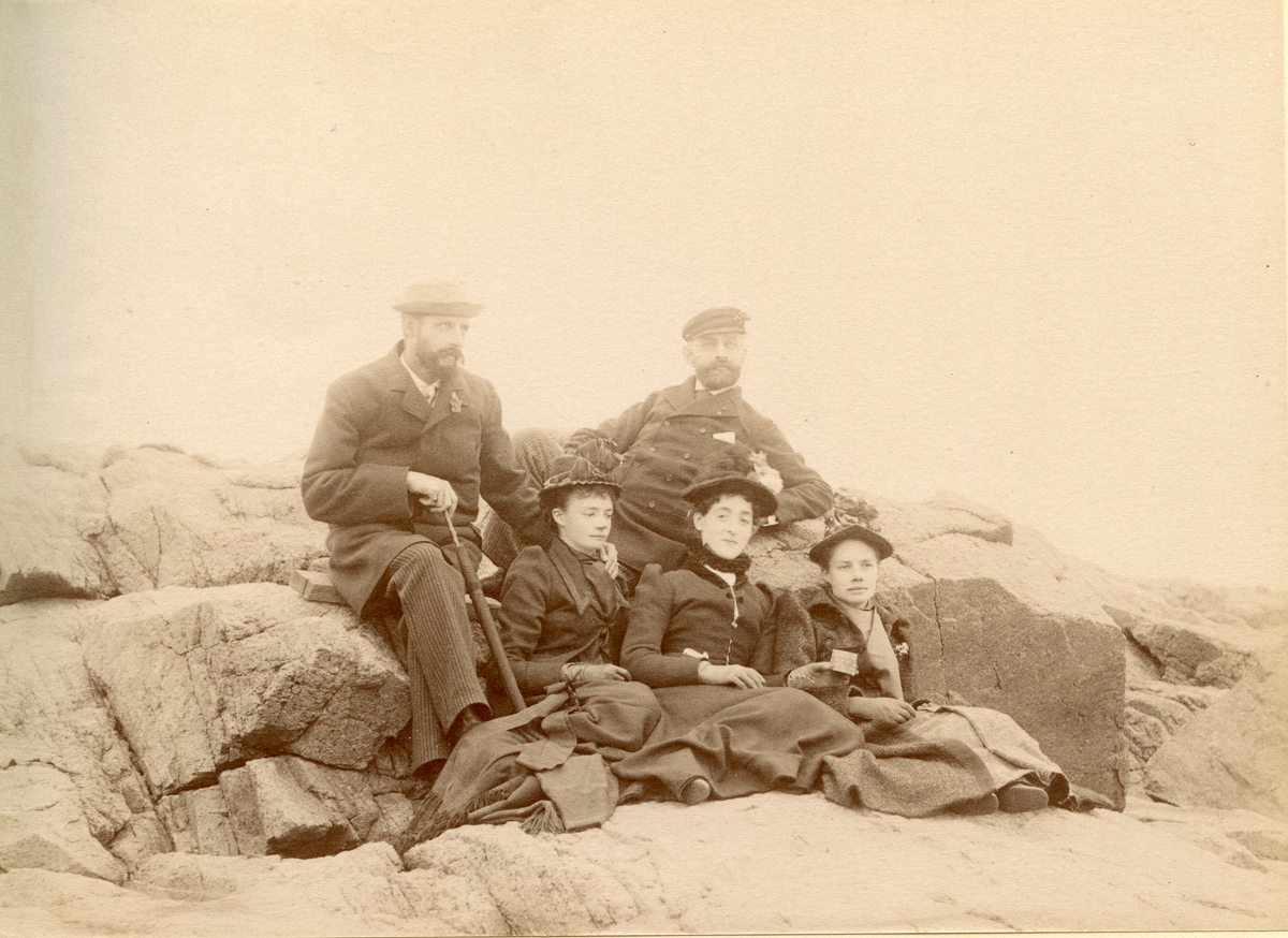 Mary Elizabeth Plimpton and Others on Shore