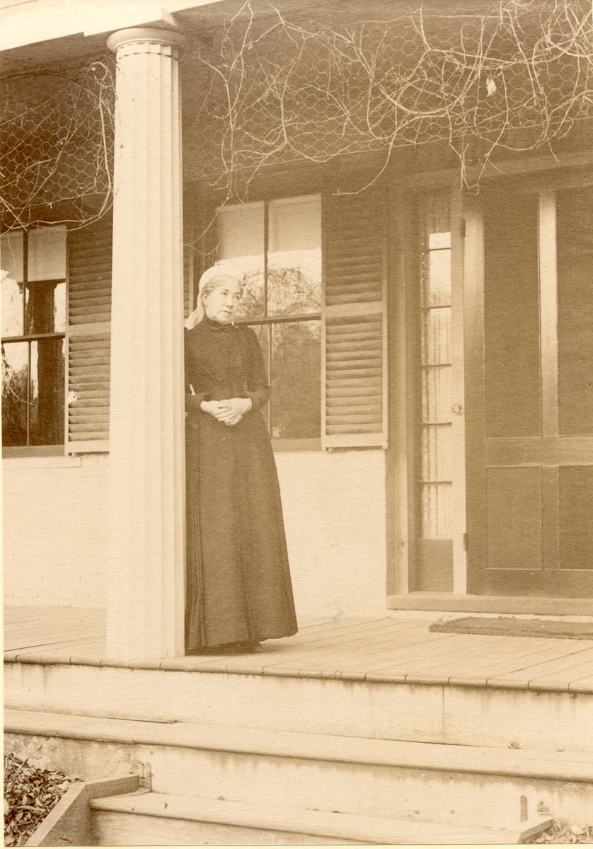 """Frances """"Fanny"""" Anna Lathrop Wakefield at Home"""