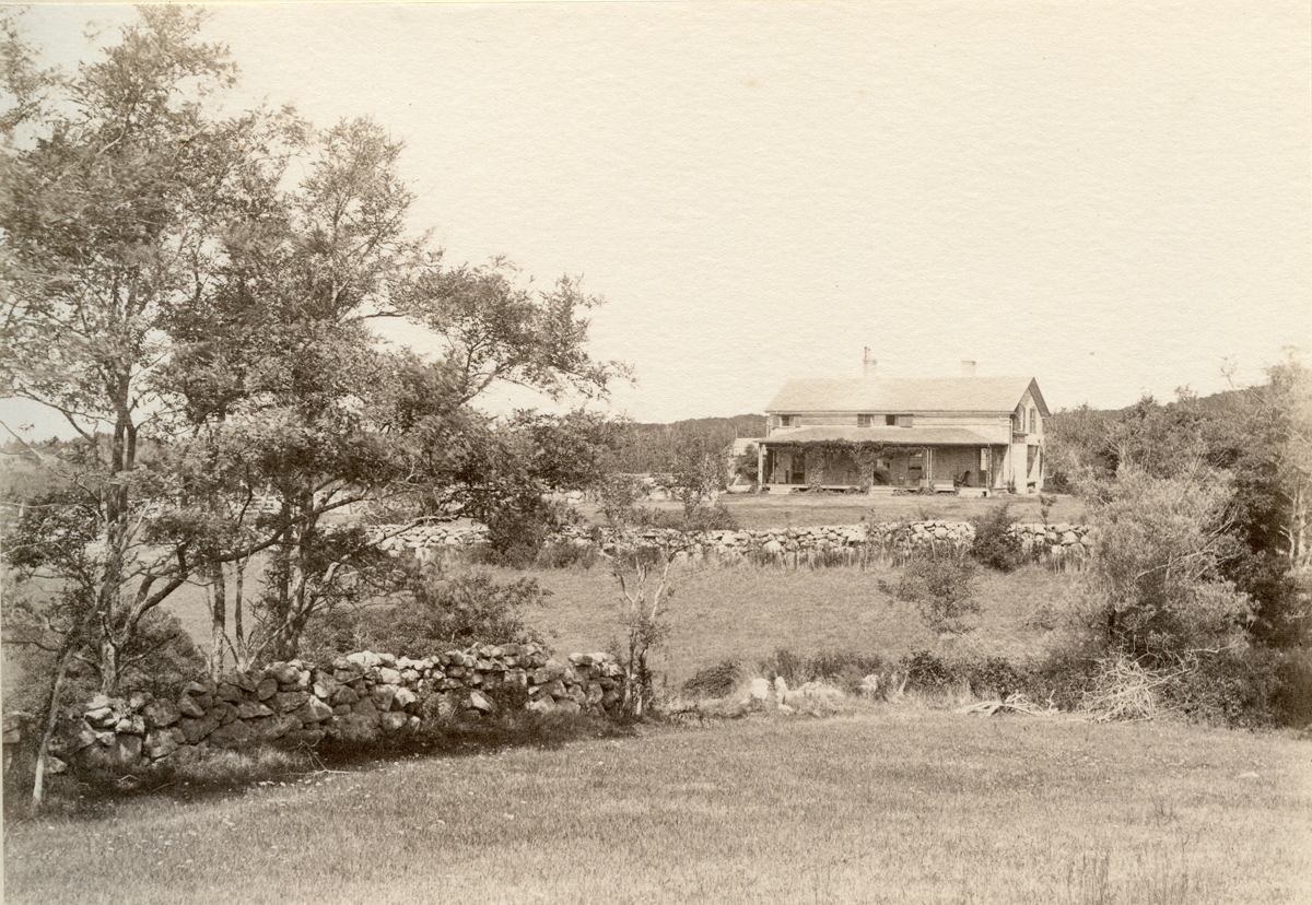 The Nathaniel Southgate Shaler Summer Home From the Hill