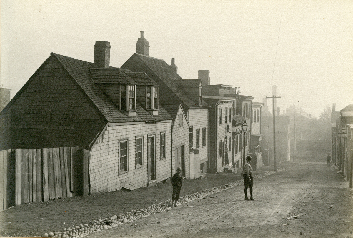 Old Houses at Halifax