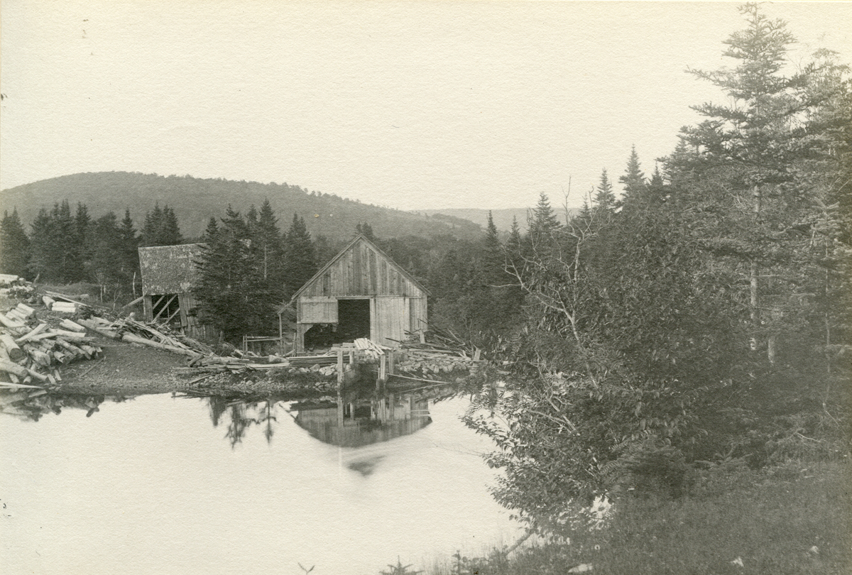 Saw Mill on the Baddeck River