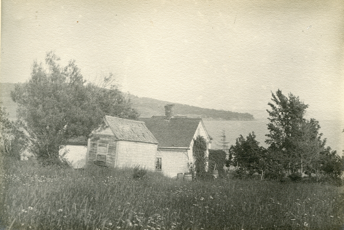 Cottage with Bell's Point in the Distance