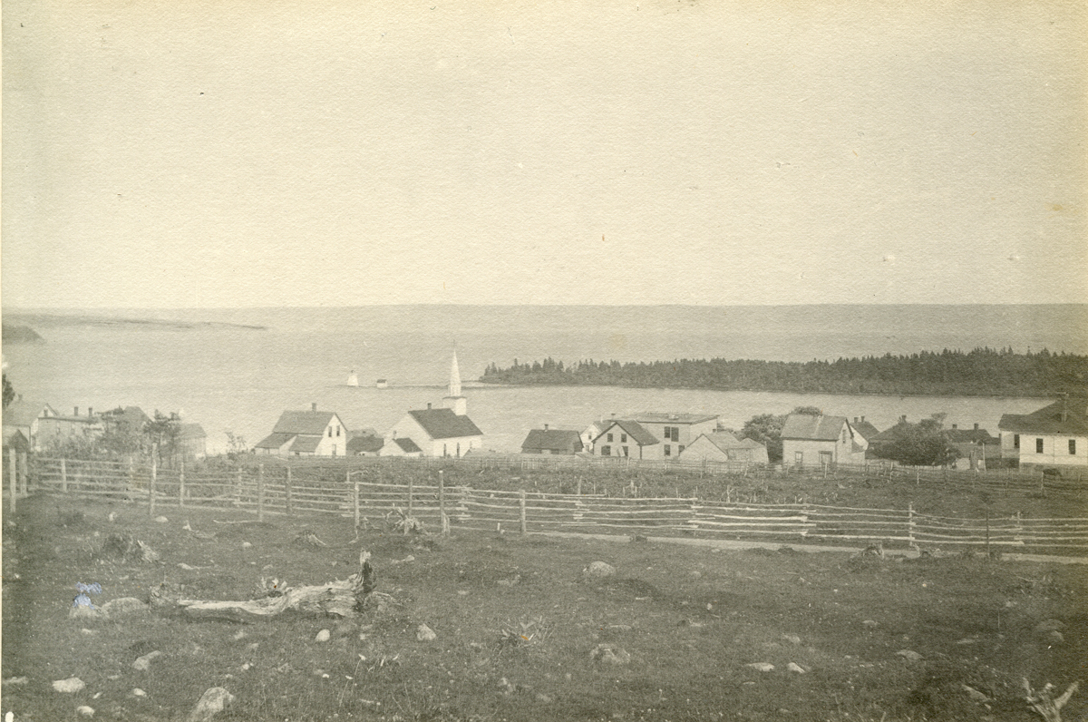 Baddeck from the Hill