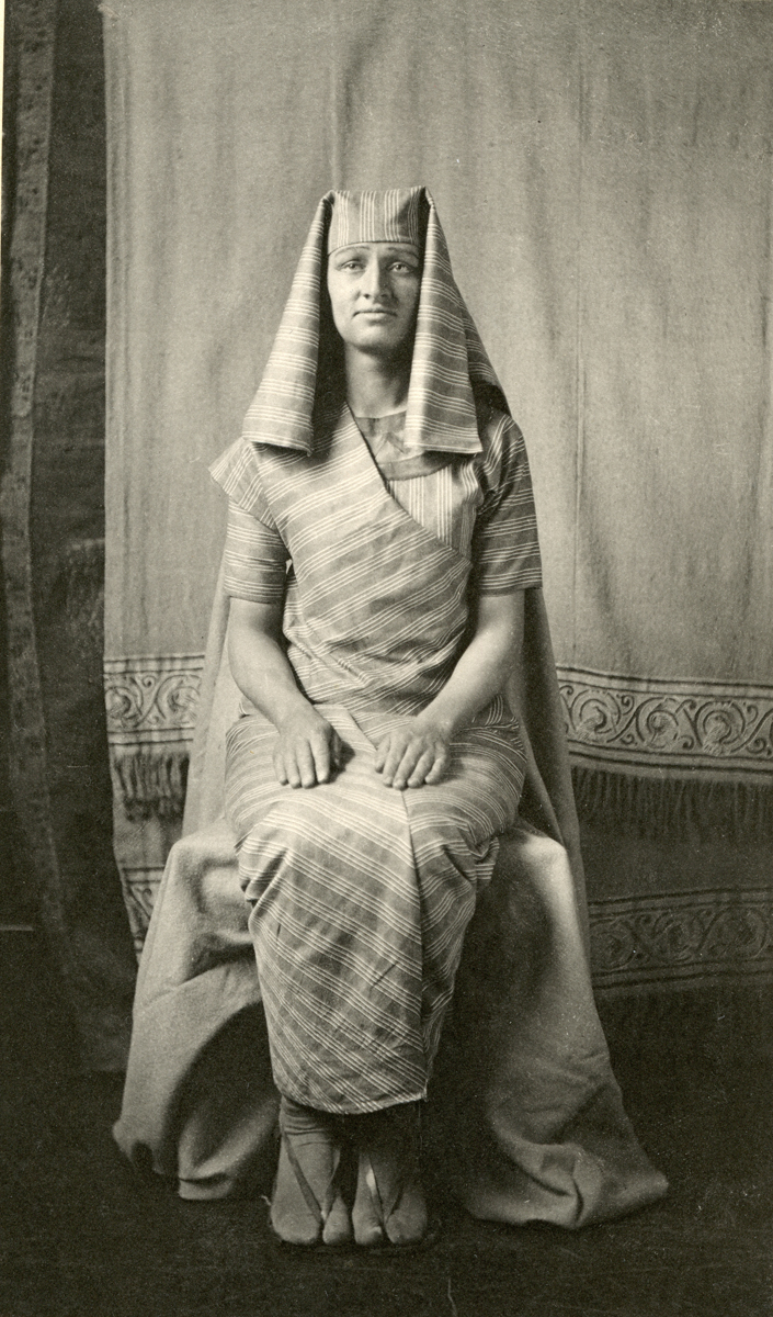 Man Dressed in Egyptian Costume