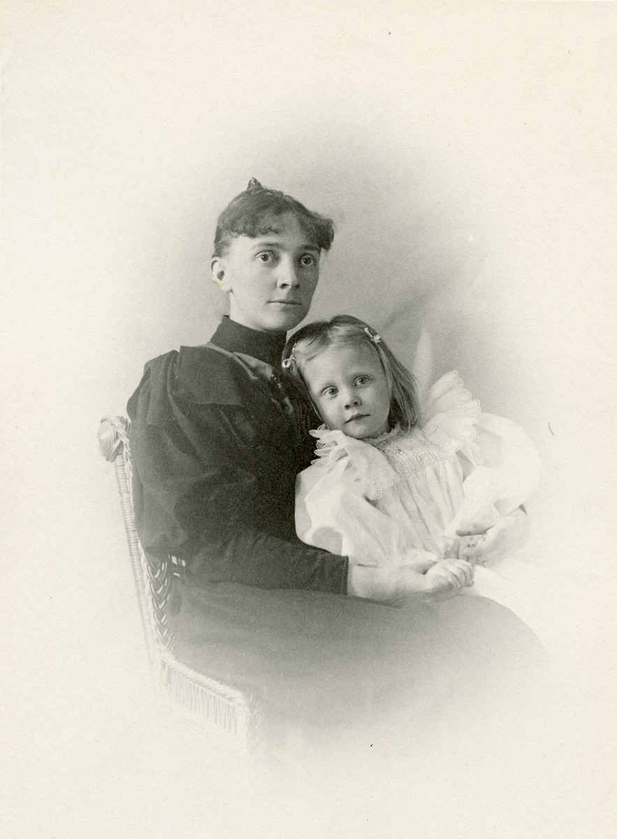 Girl with Unknown Woman