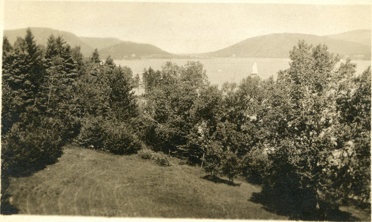 The Claremont House - View up Somes Sound