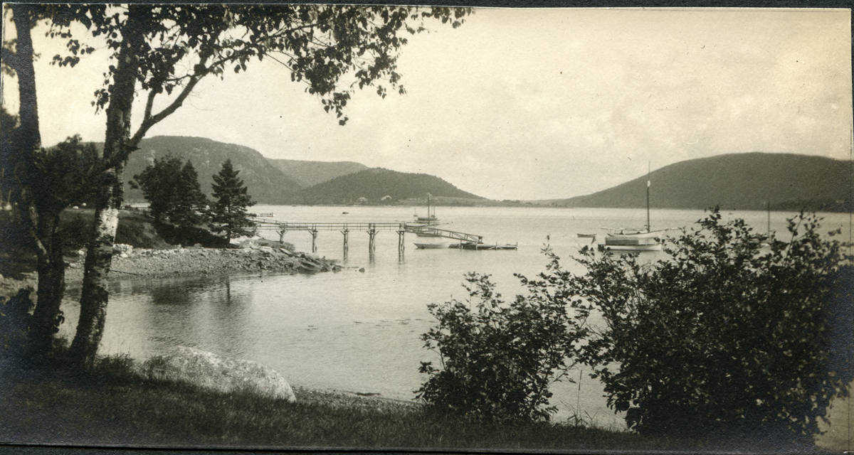 View from The Claremont House Shore up Somes Sound