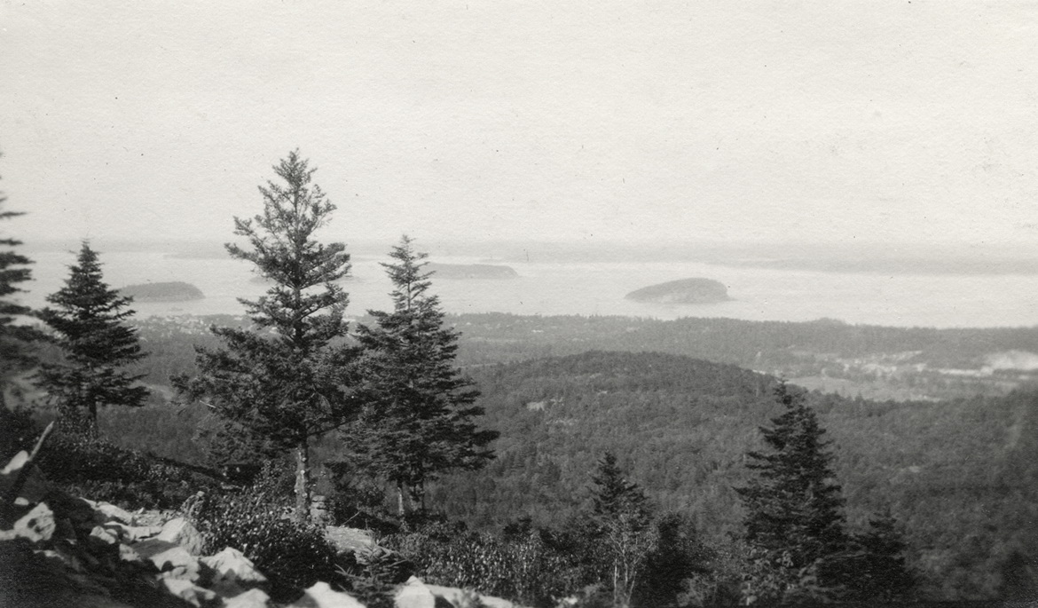 Porcupine Islands from Green Mountain