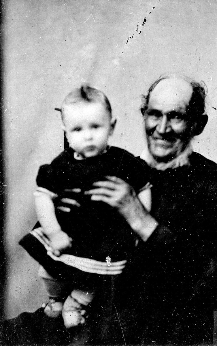 James Whitmore and his great-grandson James Franklin Whitmore (1875-1951)
