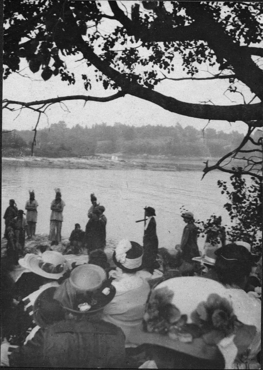Indigenous Ceremony Pageant at Fernald Point