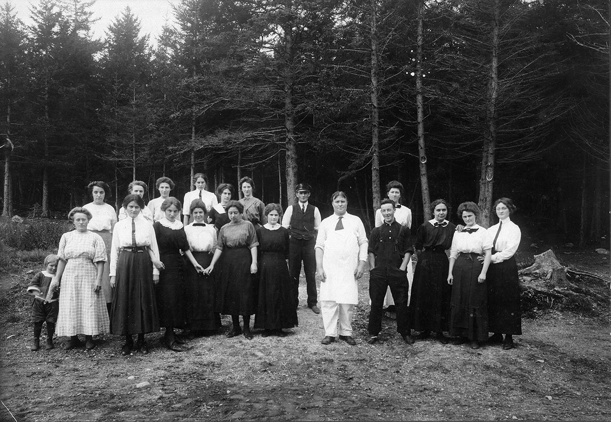 Staff of the Claremont Hotel