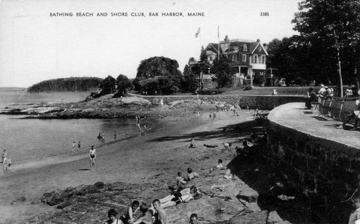 Bathing Beach and Shore Club, Bar Harbor