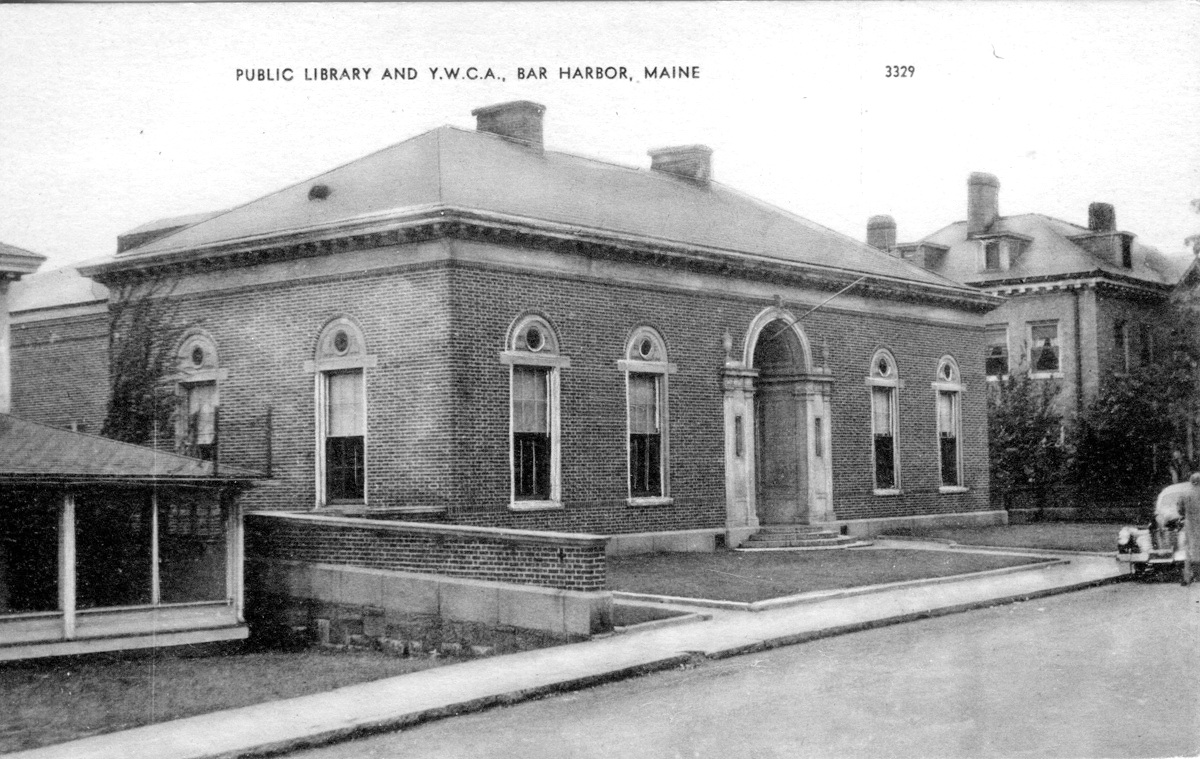Jesup Memorial Library and Y.W.C.A., Bar Harbor, Maine