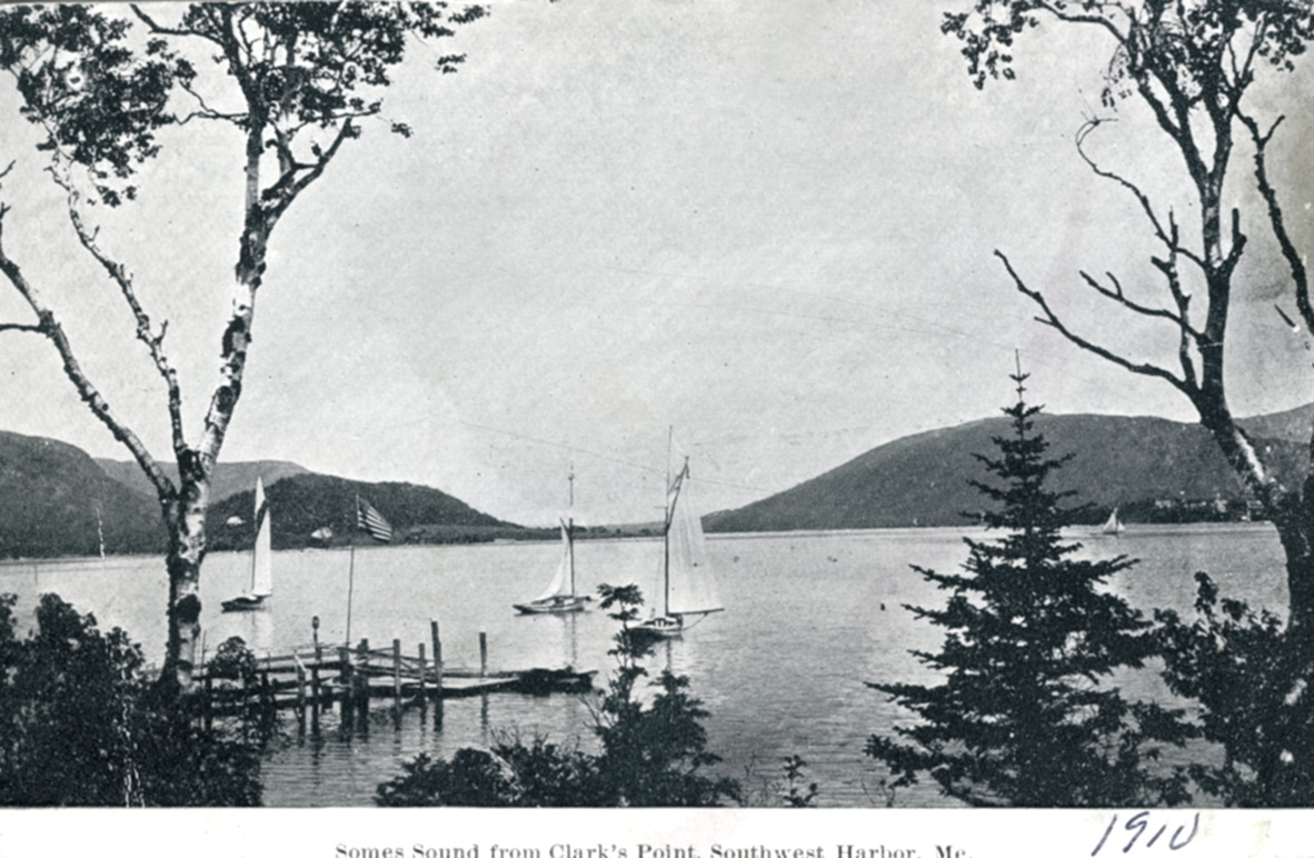 Southwest Harbor - View of Somes Sound from Clark Point