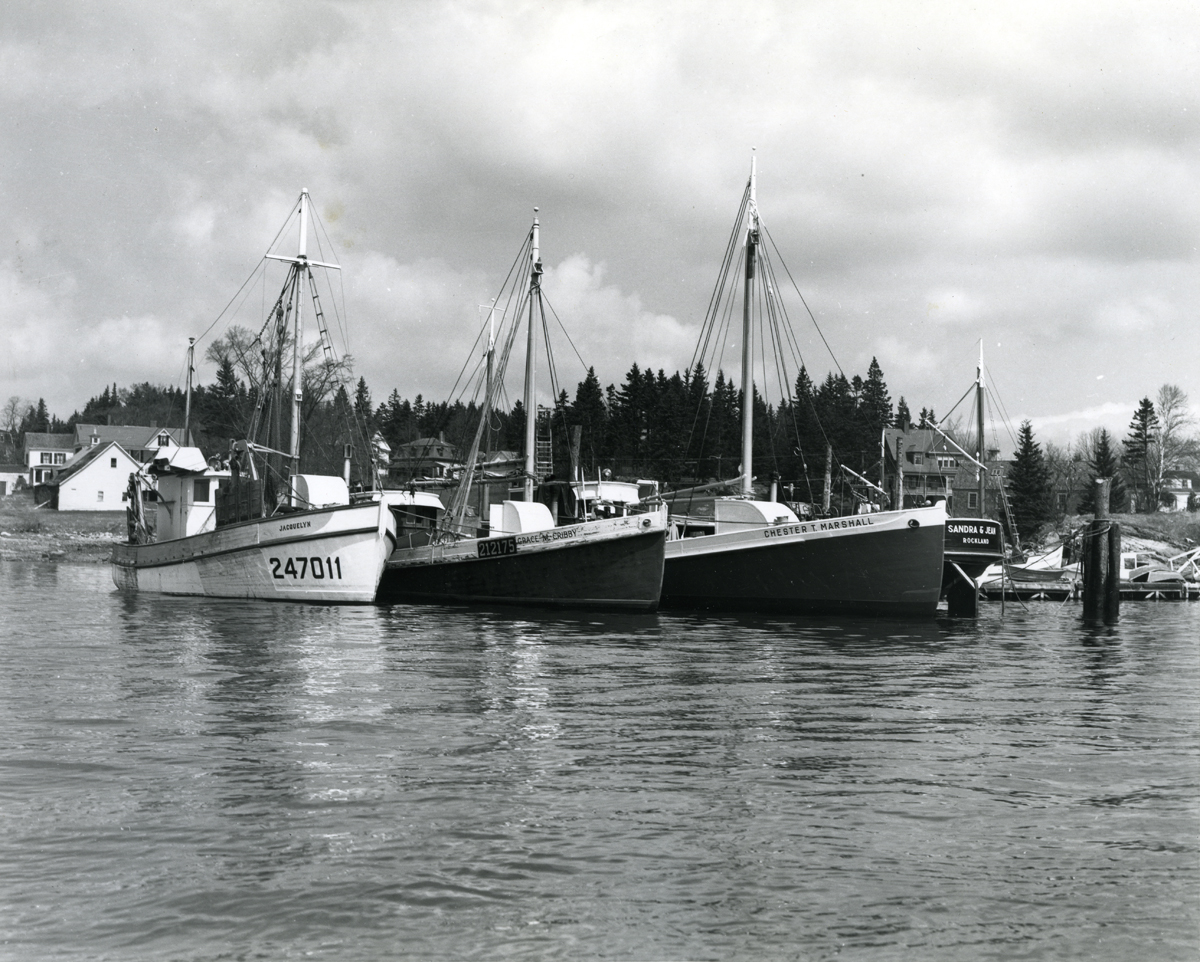 Draggers at Southwest Boat Corporation Dock