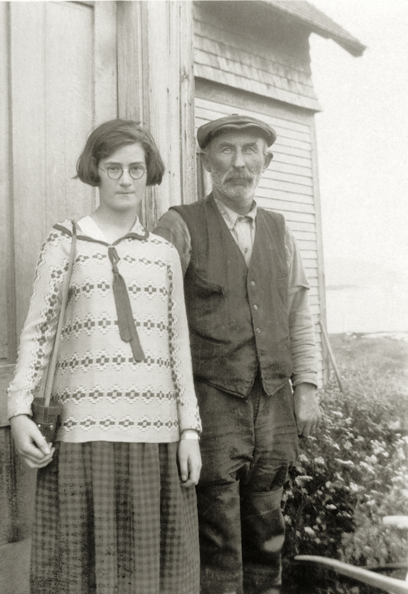 Albert Ernest Stanley and Unknown Girl