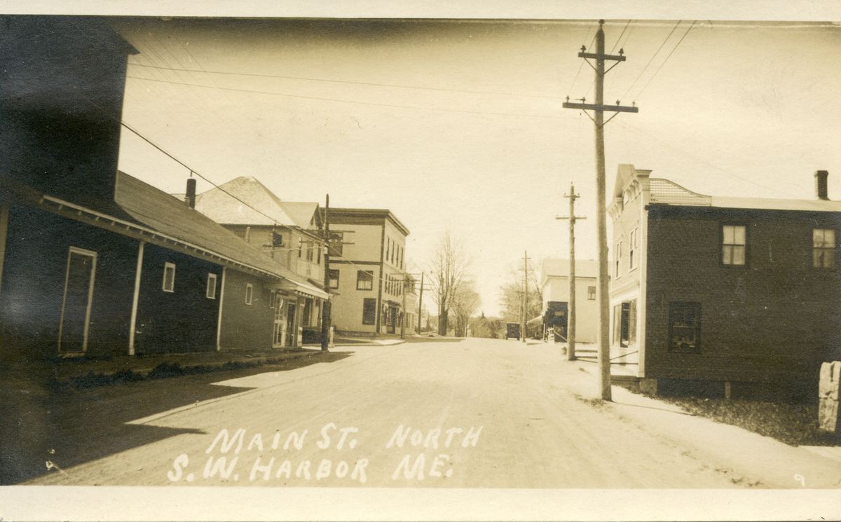 Looking South on Main Street, Southwest Harbor