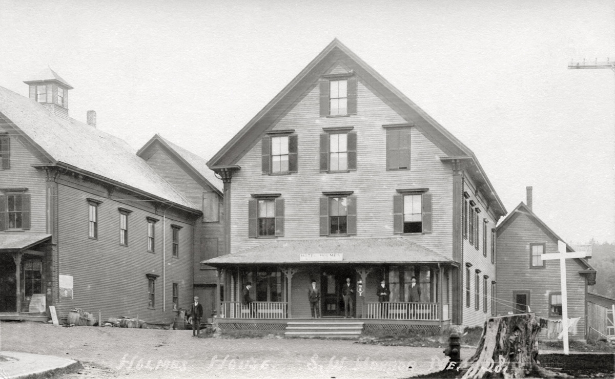 The Hotel Holmes and A.I. Holmes Store