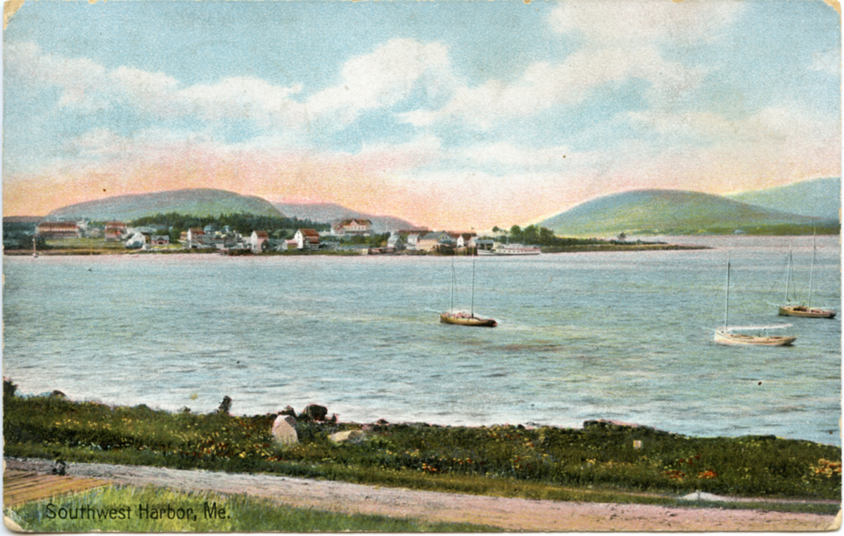 View of Southwest Harbor, Maine