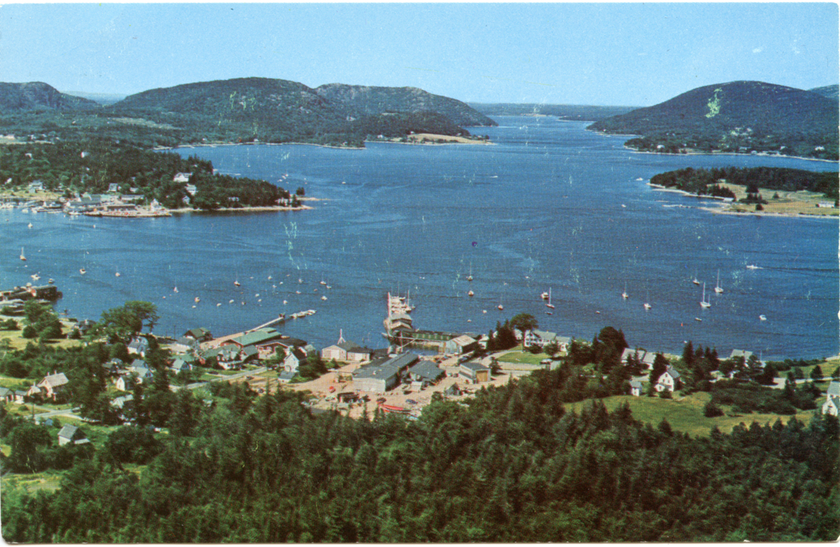 Aerial View of The Henry R. Hinckley Company, Manset, and Somes Sound
