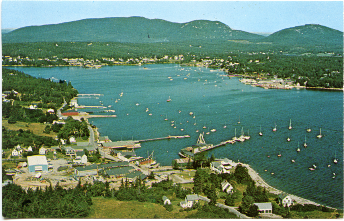Aerial View of The Henry R. Hinckley Company, Manset, and Southwest Harbor