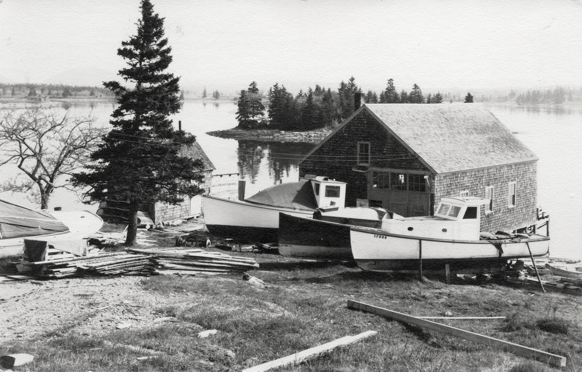 Robert Bobby Farnsworth Rich's Bass Harbor Boat Shop